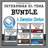 Determining Theme for Spanish Reading Comprehension BUNDLE
