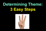 Determining Theme in 3 Easy Steps