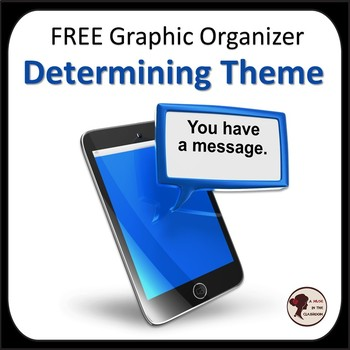 Determining Theme in Any Work of Fiction: Free Graphic Organizer