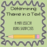 Determining Theme in a Text