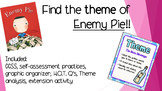 """Determining Theme using the book """"Enemy Pie"""""""
