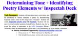 Determining Tone + Identifying Poetry Elements w/ Inspecta
