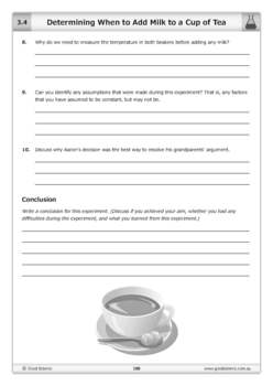 Determining When to Add Milk to a Cup of Tea [Practical]