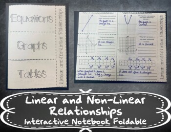 Determining if a Function is Linear INB TEKS 8.5H