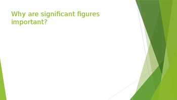 Determining number of Significant Figures