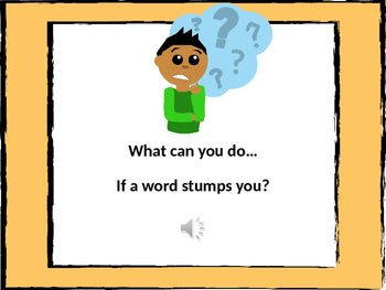 Determining the Meaning of Unknown Words PowerPoint