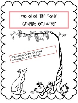 Determining the Morals of Common Fables Interactive Notebook