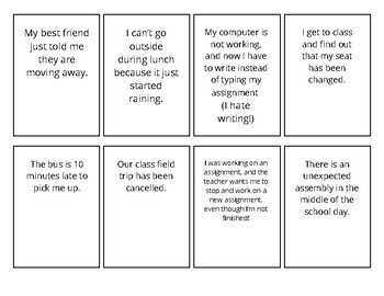 "Printable""Detour Game"" Packet: Learning flexible thinking and coping strategies!"