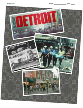 Detroit 2017 Film Guide; Detroit Riots; Civil Rights; Relate to Current News
