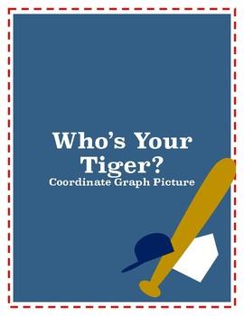 Detroit Tigers Coordinate Graph