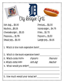 Detroit Tigers Menu Math