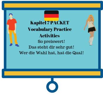 Deutsch Aktuell 1/Kap.7PACKET/Dialoge 1, 2 & Lesestück/Vocabulary Practice Act.