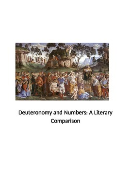 Deuteronomy Numbers Literary Comparison