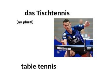 Deutsch Aktuell 1 Chapter 10 Part 1 Vocabulary