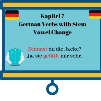 Deutsch Aktuell 1 / Kapitel 7 / Verbs with Stem Vowel Change