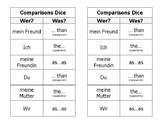 Deutsch - Comparisons and Superlative Dice