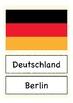 Deutsch / German Bildkarten Länder in Europa - flash cards countries Europe