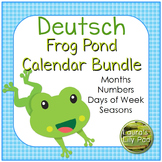 Deutsch German Calendar Bundle Frog Pond Theme