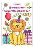 Deutsch / German Geburtstagskalender, Kalender, Poster + worksheet Geburtstag