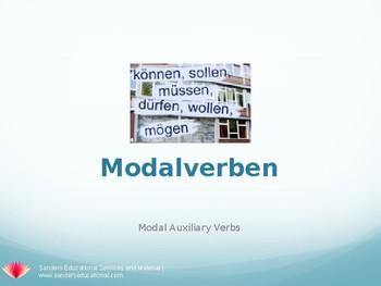 Deutsch Modalverben - Auxiliary Verbs German