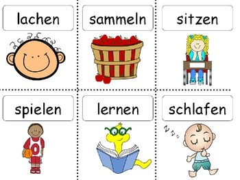Deutsch: Verben konjugieren- German: Conjugation of verbs