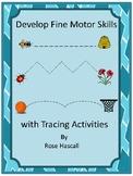 Fine Motor Skills Tracing Activities Preschool Special Ed