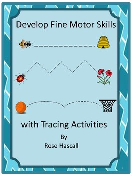 tracing activities tracing lines fine motor skills preschool special ed. Black Bedroom Furniture Sets. Home Design Ideas