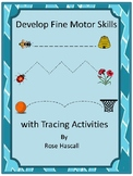 Fine Motor Skills Worksheets Tracing Activities Preschool