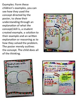 Develop Math Thinkers - Math Concept Assessment Posters for Geometry