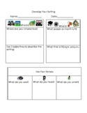 Develop Setting Graphic Organizer