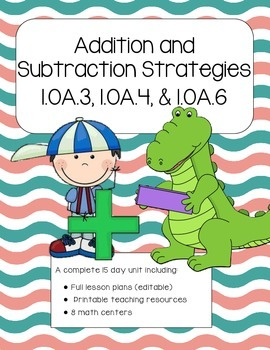 Developing Addition and Subtraction Strategies