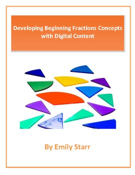 Developing Beginning Fractions Concepts with Digital Content