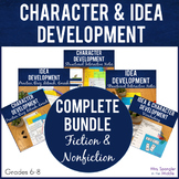 Idea and Character Development Unit BUNDLE