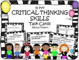 Developing Critical Thinking Skills Task Cards