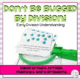 3rd Grade Division Centers : Bug Division Themed