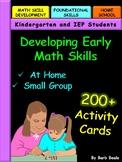 Developing Early Math Skills
