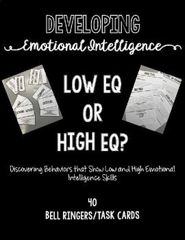 Developing Emotional Intelligence, Low EQ or High EQ? BUNDLE