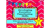 Developing Executive Functioning Skills- What Do You Do Wh