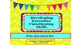 Developing Executive Functioning Skills- Why Question Set