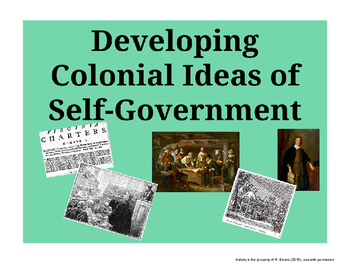 Developing Ideas of Colonial Self Government