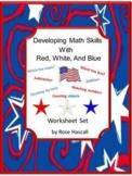 American Symbols, Fine Motor Skills, American Holidays, Special Education Math