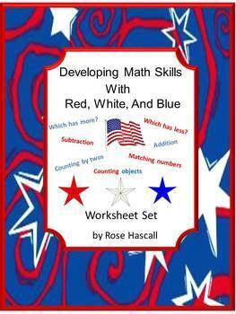 Fine Motor Skills, Cut and Paste, Counting, American Holid