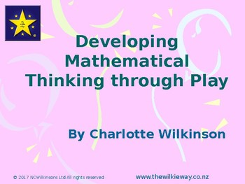 Developing Mathematical Thinking Through Play