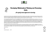 Developing Mathematical Thinking and Reasoning Skills