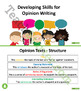 Developing Opinion Writing Skills Unit Plan – Grade 3 and Grade 4
