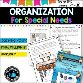 Developing Organised work habit with Older Students.