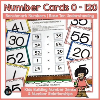 Developing Place Value Concepts: Number Cards 0 - 120