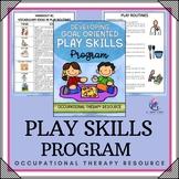 Developing Play Skills Program - Friendship Social Skills Kindergarten Therapy