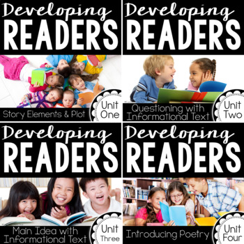 Developing Readers : Unit One through Four GROWING BUNDLE