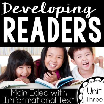 Developing Readers : Unit Three